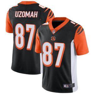 Cincinnati Bengals C.J. Uzomah Black Jersey
